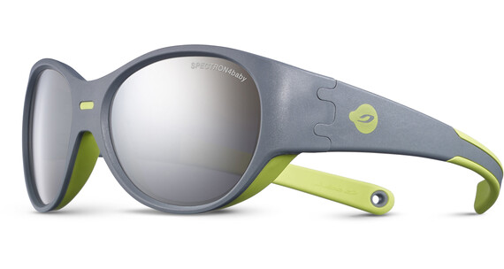 Julbo Kids 3-5Y Puzzle Spectron 4 Sunglasses Gray/Green-Gray Flash Silver